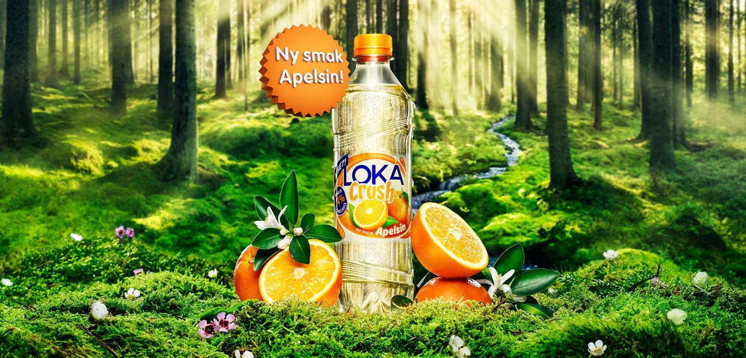 loka crush apelsin